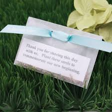 wedding seed favors personalized ribbons favor packaging wedding favors party