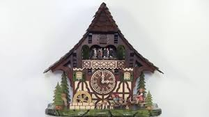adolf herr cuckoo clock fun on the see saw 8 day with music nr ah