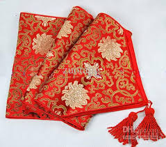 lengthen 120 inch high end luxury decoration table runners for