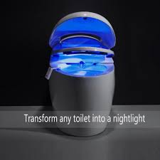 Water Faucet Night Light Vintar 16 Color Motion Sensor Led Toilet Night Light 5 Stage