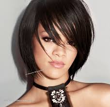 pics of razored thinned hair love the razored and thinned ends and chunky bangs short hair