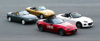 mazda roadster mazda has made one million mx 5s torque