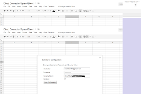 Open Google Spreadsheet Google Integration With Salesforce How To Connect Google Cloud