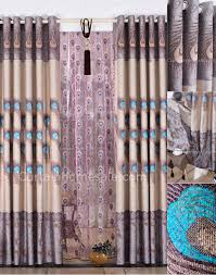 Peacock Curtains Design Peacock Feather Curtains Embroidery And Jacquard For Living