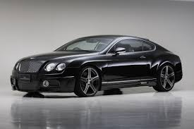 bentley sports car wald bentley continental gt sports line black bison edition