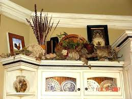 ideas for top of kitchen cabinets kitchen cabinet decorating decor on top of cabinets kitchen