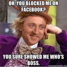 Blocked Meme - 29 best blocked on facebook images on pinterest hilarious quotes