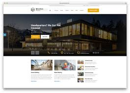 wordpress templates for websites 30 best construction company wordpress themes 2017 colorlib