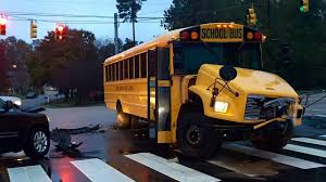 North Carolina bus travel images Wake county school bus involved in accident driver charged jpg