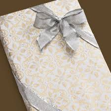 silver wrapping paper wrap glitter gold silver scroll wrapping paper sheets