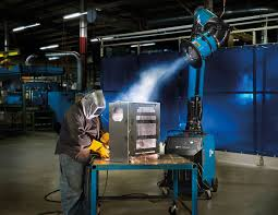 welding ventilation system advanced source capture technology creates larger area for weld