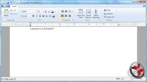image gallery microsoft wordpad