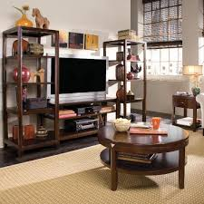 3 Piece Living Room Table Sets American Drew Tribecca 3 Piece Coffee Table Set W Entertainment