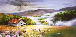 landscape painting artists landscape paintings landscape paintings of cades cove smoky