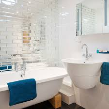 Mirror Bathroom Tiles Bathroom Small Bathroom With Mirrored Tiles Richard Gadsby Ideas