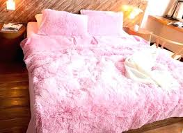 Tesco Nursery Bedding Sets Fluffy Bedding Fluffy Bed Cover Size Solid Pink Princess