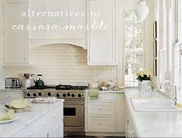Alternative To Kitchen Tiles - the great kitchen counter debate alternatives to carrara marble