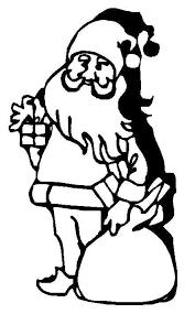 christmas coloring pages santa claus