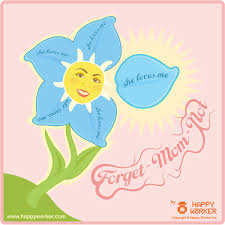 happy cards forget not s day flower happy worker