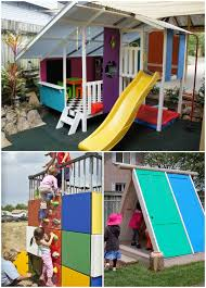 diy outdoor playhouse do it your self diy
