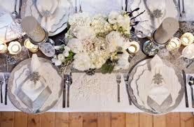 winter wedding decorations silver beaded heavy duty charger plate 13 inch winter weddings