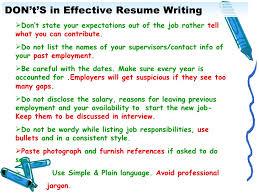 Effective Resume Samples by Download Effective Resume Writing Haadyaooverbayresort Com