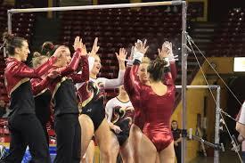 Desert Lights Gymnastics Gym Devils Set For Season Opener At Iowa State Thesundevils Com