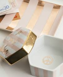 ladies choice tray stripes pink u0026 gold tableware and home