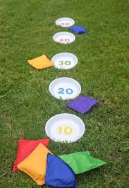 outdoor games diy bean bag toss bag toss game terra cotta and