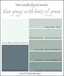 blue gray paint color schemes interior decorating scheme green