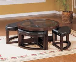 Coffee Table With Ottoman Seating Depiction Of Get A Compact And Multi Functional Living Room Space