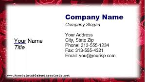 free business card templates for microsoft word inside free