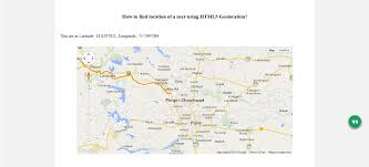 Map Javascript How To Use Html5 Geolocation Api A Detailed Tutorial Spice
