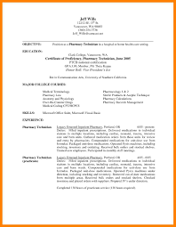 Examples Of Pharmacy Technician Resumes 9 Pharmacy Technician Cover Letter Sample Address Example