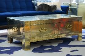 brass trunk coffee table google image result for http www stylebyemilyhenderson com storage