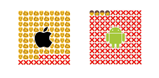 android new emoji the design team were months ahead of apple with new emoji