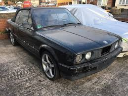 bmw e30 spare parts bmw e30 320i convertible left drive spares or repairs project