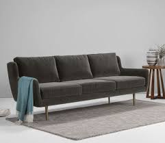 Grey Velvet Sofas Top 10 Contemporary Velvet Sofas U2022 Colourful Beautiful Things