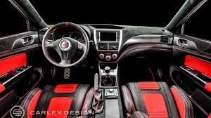 cosworth subaru engine subaru cosworth impreza sti cs400 interior customized by carlex