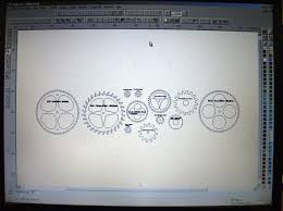 free wooden gear clock plans pdf evelyn dillard blog