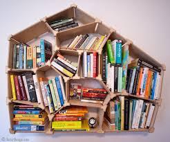 cara membuat lemari buku dari kardus bekas cara membuat rak buku dari kardus prelo blog tips review