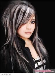 grey streaks in hair best 25 gray streaks ideas on pinterest grey hair streak going