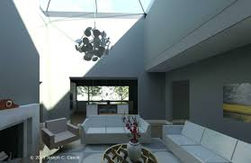 Split Level Style House A Gorgeous Home Split By Covered Garden Atrium Indoor Outdoor