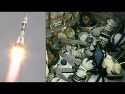 soyuz ms 04 launch highlights youtube