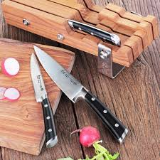 kitchen knives block set cangshan s series 61864 german steel forged 4 starter knife