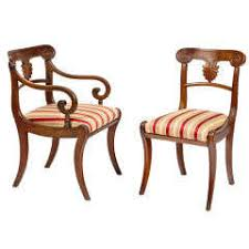 Regency Dining Chairs Mahogany Regency Dining Room Chairs 130 For Sale At 1stdibs