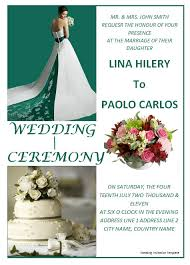 sample wedding brochure brochure template for wedding template