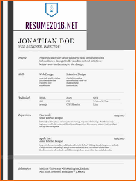 Facebook Resume Template 13 The Best Resume Templates For 2016 Budget Template Letter