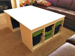 playroom table with storage the logistics of how to build a stylish functional
