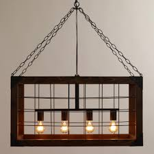 Lantern Chandelier For Dining Room by Lighting Edison Ceiling Light Cage Ceiling Light Farmhouse